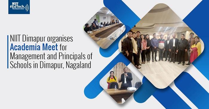 NIIT Dimapur organises Academia Meet for Management and Principals of Schools in Dimapur, Nagaland