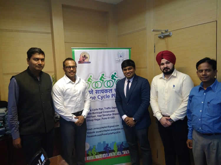 MoU signed between ofo and Pune Municipal Corporation