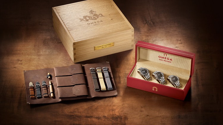 OMEGA Limited Edition Trilogy Watches