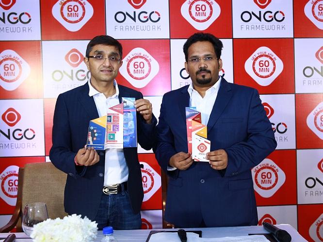 (L-R) Mr. Mitesh Majithia, Director Strategy & Growth, ONGO Framework, Mr. Rama Kuppa, Founder & CEO ONGO Framework