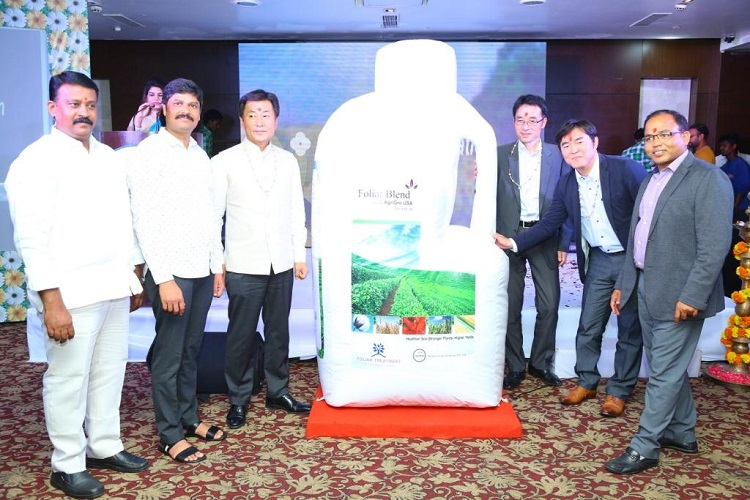 """Foliar Blend"" launch in India by Roshin Crop Sciences Pvt Ltd."