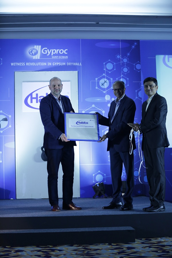 Mr. Jonathan Cherry, Global Marketing Manager - Saint Gobain Gypsum Activity, Mr. Venkat Subramanian – Regional CEO – Construction Products India & Managing Director – Gyproc India and Mr. Sudeep Kolte, VP Sales & Marketing at Gyproc India