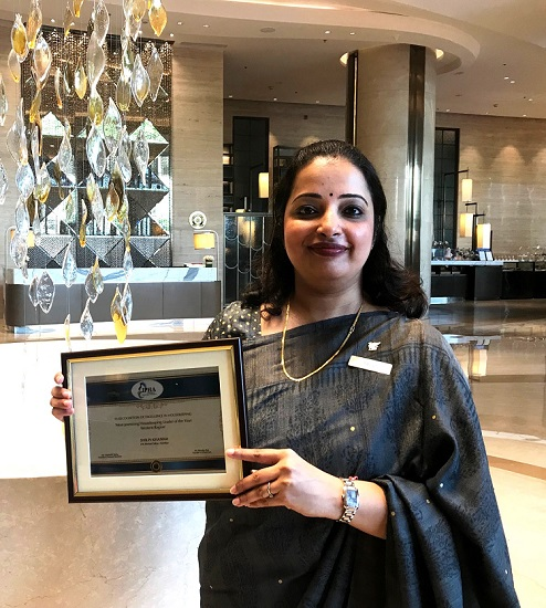 Shilpi Khanna, Assistant Director of Rooms, JW Marriott Mumbai Sahar