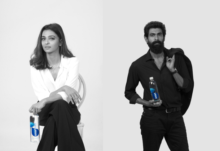 smartwater, a premium water brand by Coca-Cola ropes in Radhika Apte and Rana Daggubati as brand ambassadors for its new campaign