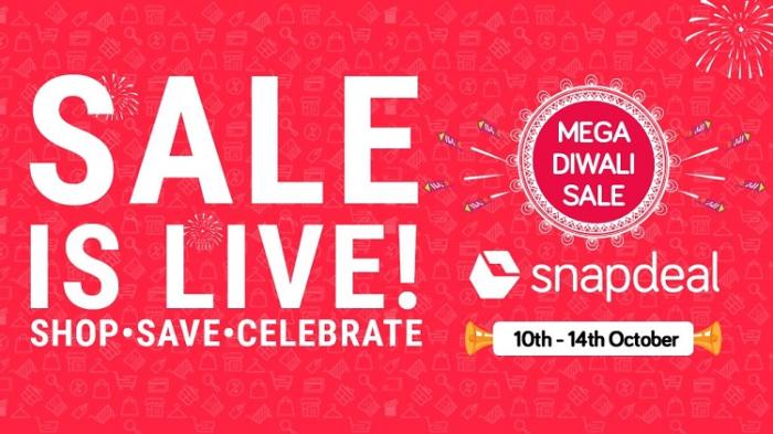 Snapdeal's Mega Diwali Sale goes live