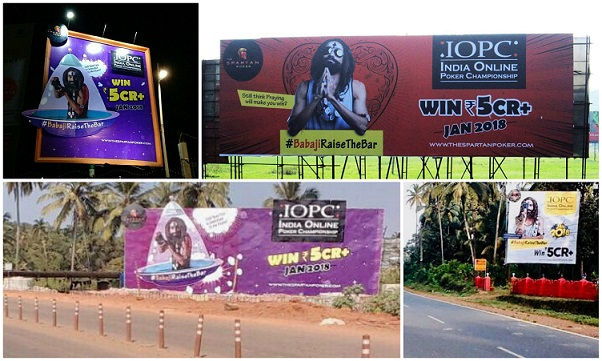 IOPC hoardings across Bangalore and Goa