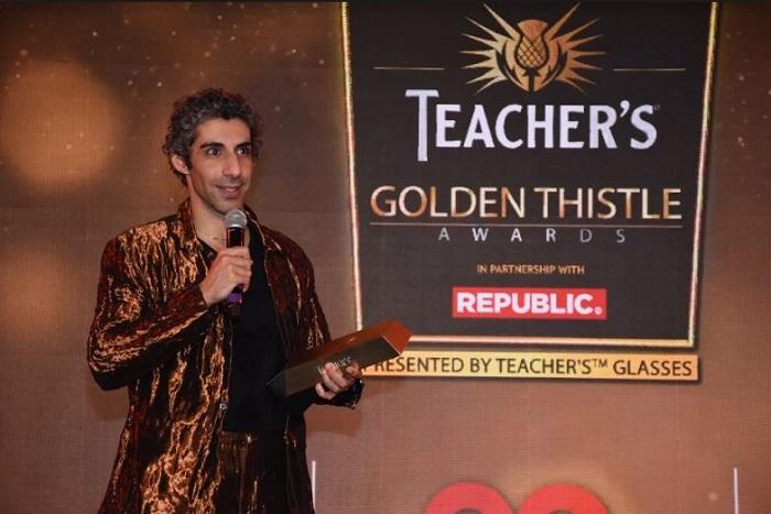 Actor Jim Sarbh awarded Teacher?s Golden Thistle Award for Most Stylish Man