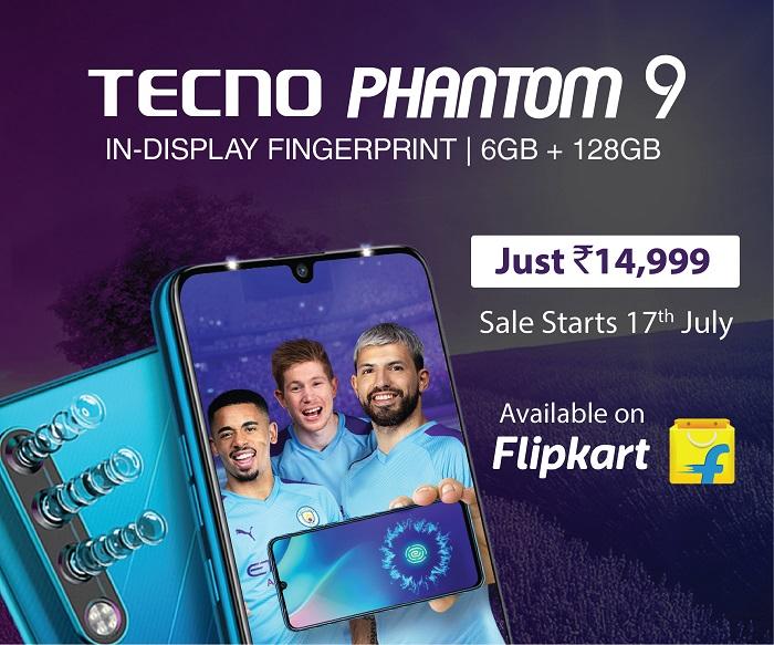 TECNO Phantom 9 available on Flipkart