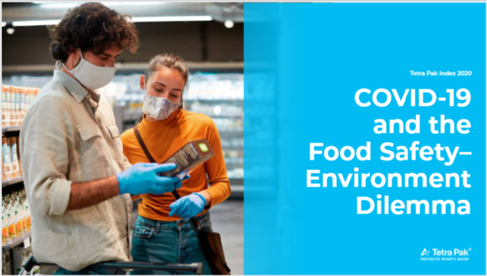 Food safety, the environment and the COVID-19 pandemic were all uppermost in people's minds in the latest Tetra Pak Index