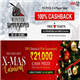 Win 21K in Adda52 Rummy Xmas Carnival and 100 percent cashback in Winter Warriors