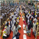 Over 3500 underprivileged children participating in the event