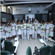Students of Universal Public School with the GIA GemKids Workbook