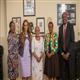 Dr. Rasha Kelej, CEO of Merck Foundation and President, Merck More Than a Mother with The First Lady of Kenya, H.E. MADAM MARGARET KENYATTA