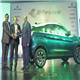 Dr. Raghupati Singhania, Chairman and Managing Director, JK Tyre & Industries presenting the 'Green Car Award 2021 by ICOTY' to Mr. Anand Kulkarni, Product Line Director, Electric Vehicles & ALFA Architecture, PVBU, Tata Motors for the 'TATA NEXON EV' in the presence of the jury members in New Delhi