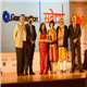 Ruby Ahluwalia of Sanjeevani being conferred the Grant Thornton Sabera Change Makers Award 2019 in recognition of her unflinching dedication and support to underprivileged cancer patients and for helping to rehabilitate them