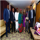 Dr. Rasha Kelej, CEO of Merck Foundation with H.E. Dr. LALLA MALIKA ISSOUFOU MAHAMADOU, the First Lady of Niger during the meeting to discuss the selection of the right candidates for the one year online diabetes diploma