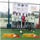 Footballer Aditi Chauhan and Sports Specialist Durva Vahia at the Football work shop with participants in Mumbai