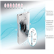 In 3 simple effective steps, Nanostrike technology disinfects the indoor air