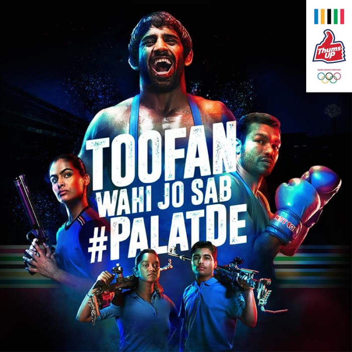 Thums Up celebrates 100 years of India at the Olympic Games, partners with Tokyo 2020 to salute the strength, resilience, and heroism of athletes