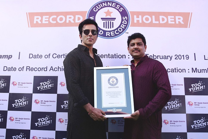 Too Yumm! Crowned as the first brand to achieve a Guinness World Records® feat at Kumbh Mela