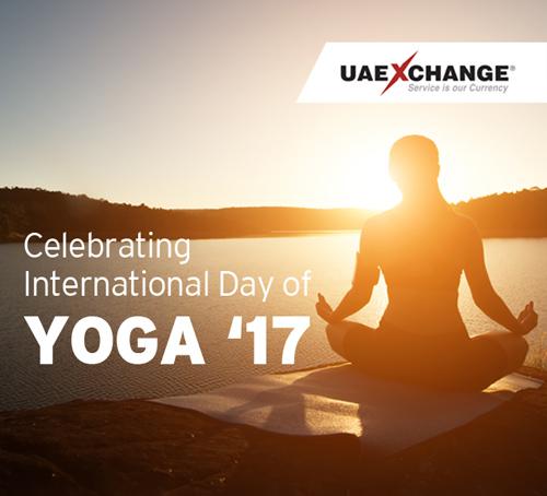 UAE Exchange wishes International Yoga Day