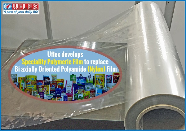 Uflex develops Speciality Polymeric Film to replace Nylon Film