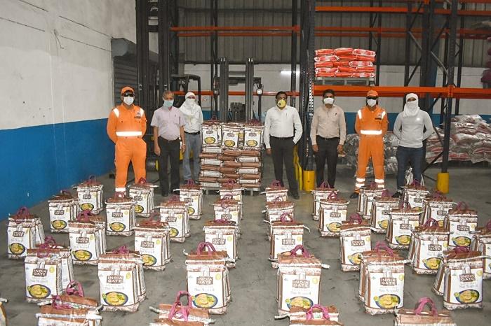 #UmeedHainHum India Gate Basmati Rice Food Distribution Drive