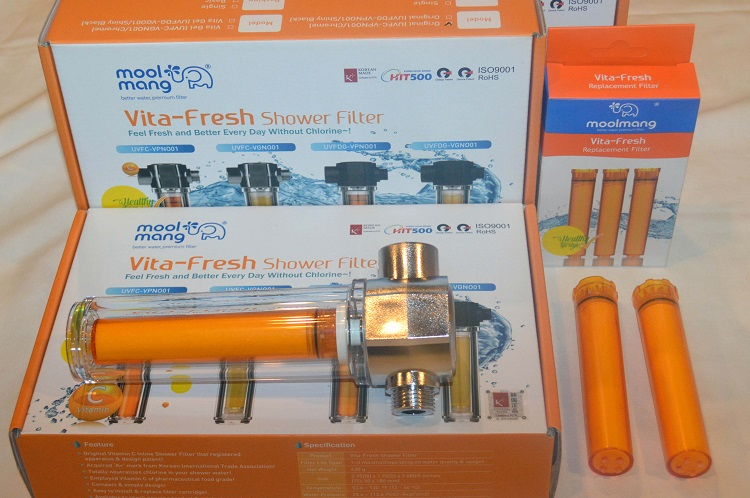 Vita-Fresh Shower Filter for chlorine free bathing launched in Indian market