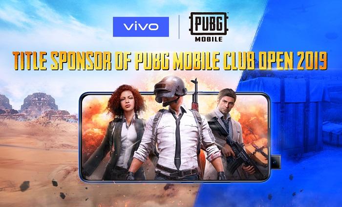 vivo & PUBG Mobile Club Open 2019 partnership