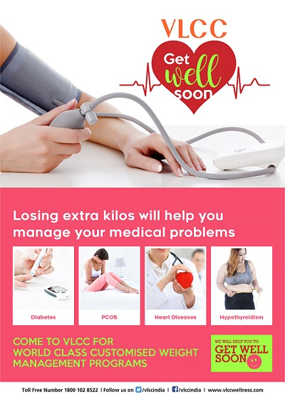 VLCC launches its 'Get Well Soon' campaign