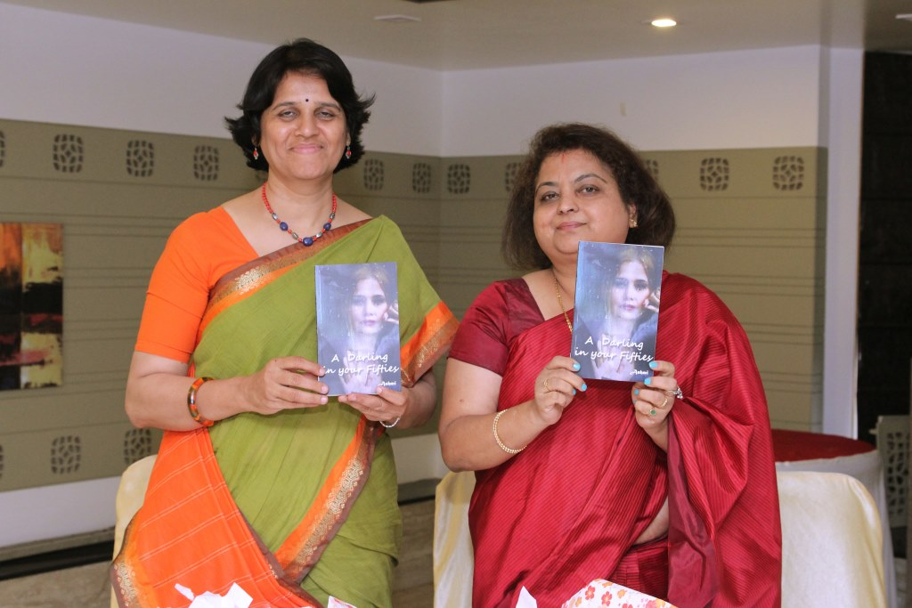 Unveiling of the book 'A Darling in your Fifties' by Nagalakshmi M G aka Ashmi