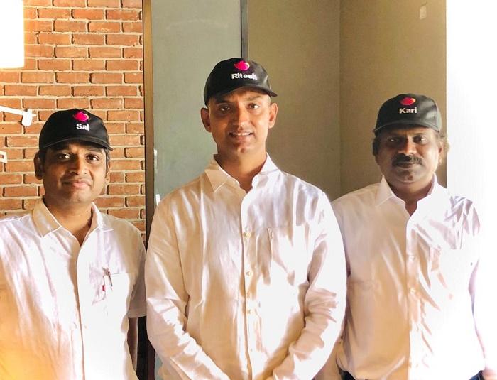 Sai Natarajan, Ritesh Kant, Karikalan G - co founders at wowTalkies