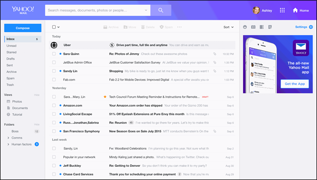 A Cleaner, Faster and More Powerful Yahoo Mail